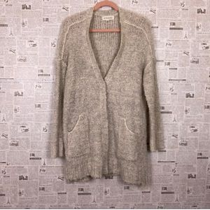Grandpa cardigan soft knit sweater S M By Together